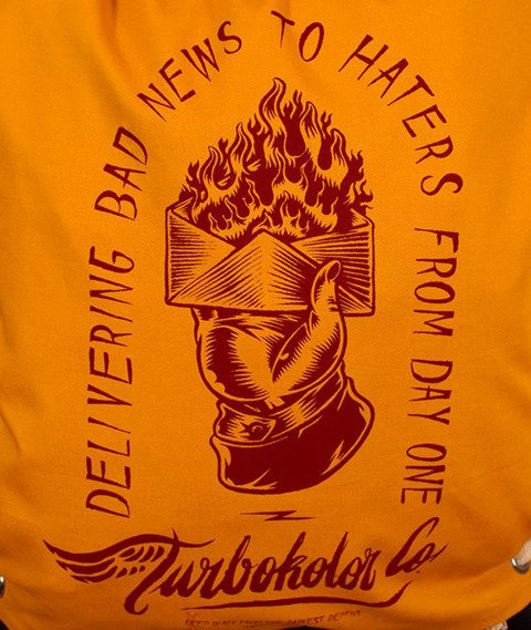 Turbokolor-Shoebag Worek Yellow