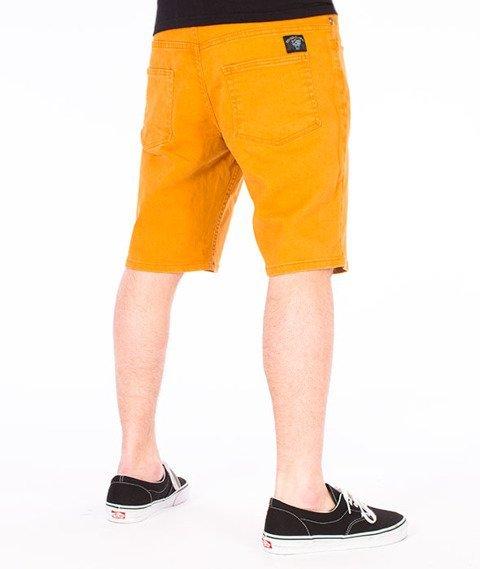 Turbokolor-Shorts Spodnie Brown