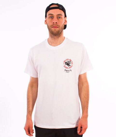 Turbokolor-Simple Thread First Date T-Shirt White