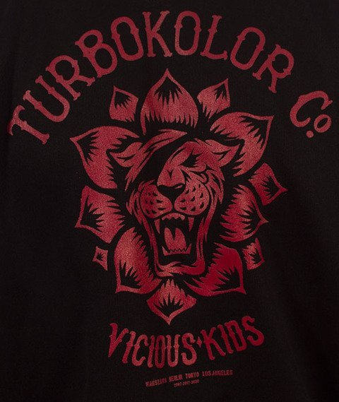 Turbokolor-Track Top Bluza Black