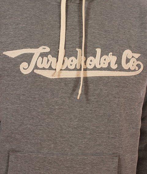 Turbokolor-Union Hood Bluza Kaptur Grey
