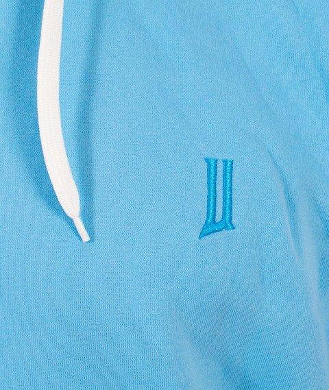"Unhuman-Classic ""U"" Hoodie Bluza Niebieska"