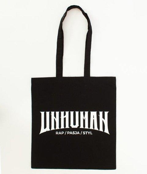 Unhuman-Logo Eko-Torba Czarna