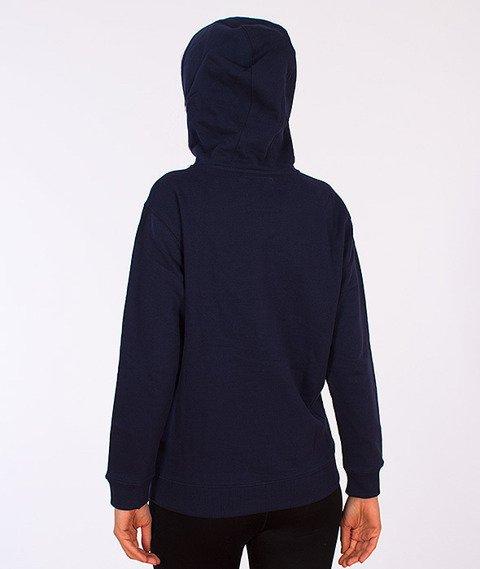 Vans-Classic Pullover Boys/Girls Hoodie Dress Blues/Rhubarb