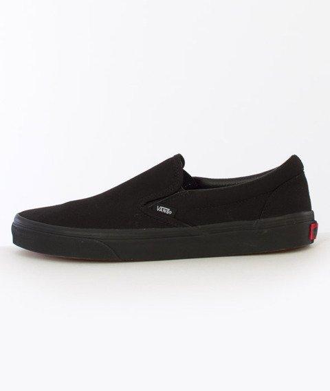 Vans-Classic Slip On Black/Black