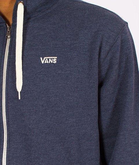 Vans-Core Basics Zip Hoody Dress Blues Heather