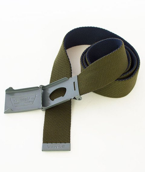 Vans-Knox Web Belt Rifle Green/Dress Blues