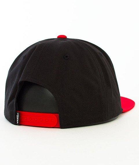 Vans-Wilmington Snapback Black/Racing Red