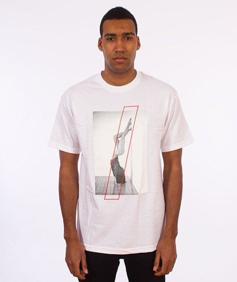 Visual-Handstand T-Shirt White