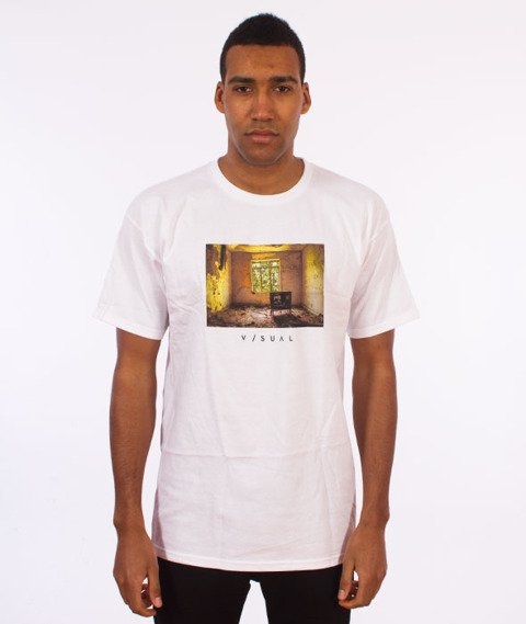 Visual-Kill Your TV T-Shirt White