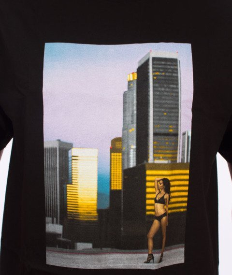 Visual-Rooftop T-Shirt Black