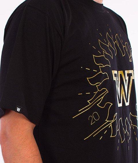 WSRH-Aztec T-Shirt Czarny/Złoty
