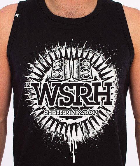 WSRH-Słońce Tank-Top Czarny