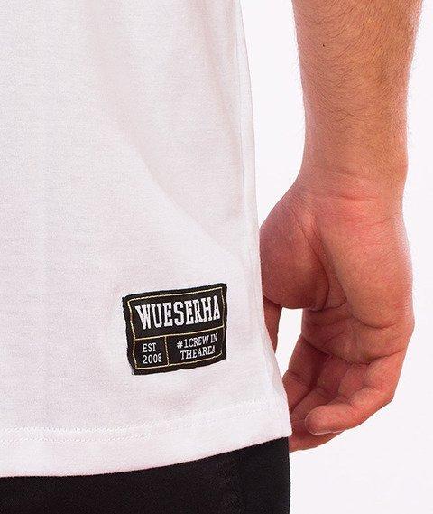 WSRH-Spray T-Shirt Biały/Czarny
