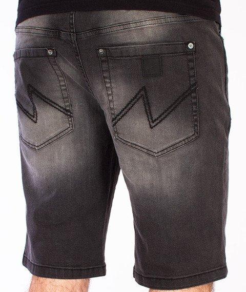 Wrung-Dash Lo Spodnie Krótkie Czarne