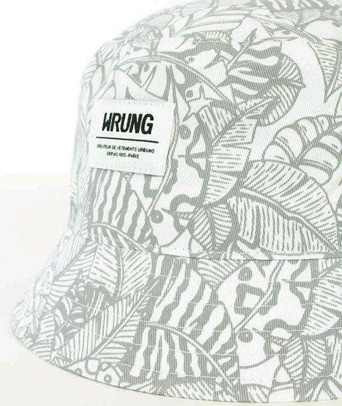 Wrung-Safari Bucket Hat Biały