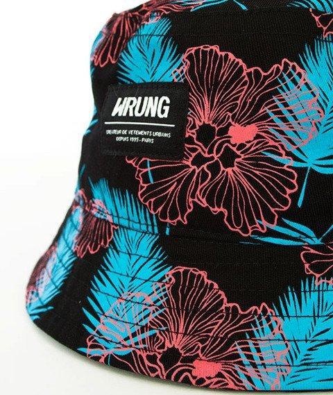 Wrung-Summertime Bucket Hat Czarny