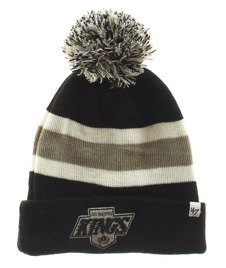 47 Brand-LA Kings Breakaway Cuff Knit Czapka Zimowa Czarna