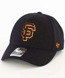 47 Brand-MVP San Francisco Giants Czapka z Daszkiem Czarna