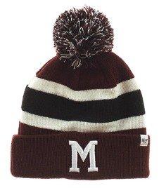 47 Brand-Montreal Maroons Breakaway Cuff Knit Czapka Zimowa Bordowa