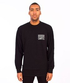 Backyard Cartel-Coach Long Crewneck Black