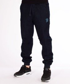 Biuro Ochrony Rapu-Jogger Fit Guma Strecz Spodnie B Outline Dark