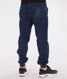 Biuro Ochrony Rapu-Jogger Fit Guma Strecz Spodnie B Outline Medium Jeans
