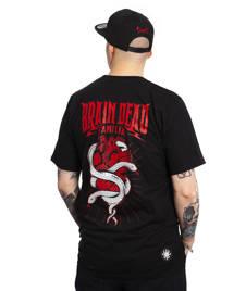 Brain Dead Familia HEART T-SHIRT Czarny