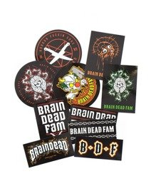 Brain Dead Familia Sticker Pack Wlepy