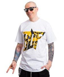 Brain Dead Familia YELLOW T-Shirt Biały