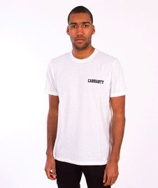 Carhartt-College Script LT T-Shirt White/Black