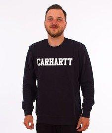 Carhartt-College Sweatshirt Black/White