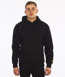 Carhartt-Hooded Chase Sweat Black