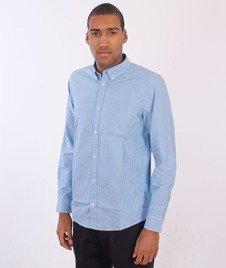 Carhartt-Longsleeve Rogers Shirt Blue