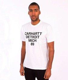 Carhartt-Mich T-Shirt White/Black