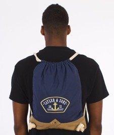 Cayler & Sons-Ahoi Gym Bag Navy/Gold