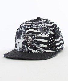 Cayler & Sons-GLD Flagged Cap Snapback Black/White