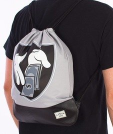 Cayler & Sons-Money To Blow Gym Bag Gray/Black/Silver