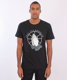 Cayler & Sons-Pray For Brooklyn T-shirt Black/White