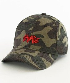 Cayler & Sons-Savage Curved Strapback Camo