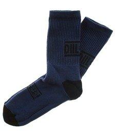 DIIL-Knuckle Skarpetki Długie Granatowe