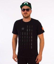 Diamante-Flag 01 T-Shirt Czarny