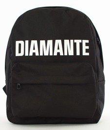 Diamante-LOGO Plecak Czarny