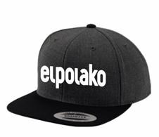 El Polako CLASSIC Snapback Grafitowy