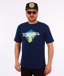 El Polako-Markers T-Shirt Granatowy