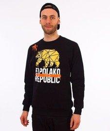 El Polako-Republic Bluza Czarna