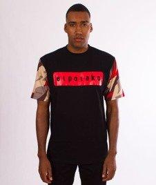 El Polako-Sleve Triangle Moro T-Shirt Red