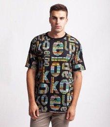 El Polako TXT ELPOLAKO T-Shirt Czarny