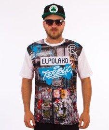 El Polako-Urban Street T-Shirt Biały