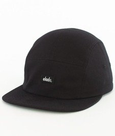Elade-Patch 5Panel Snapback Czarny
